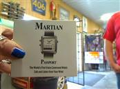 MARTIAN Gent's Wristwatch PASSPORT WATCH